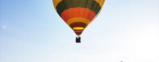 熱気球の搭乗体験